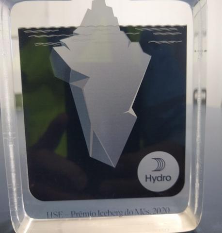 Pavidez Engenharia recebe o prêmio Iceberg